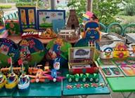 Hình ảnh Hội thi đồ dùng đồ chơi tự tạo cấp trường năm học 2020-2021